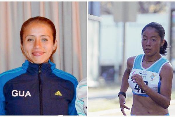 Mayra Herrera y Maritza Poncio deben regresar al país lo antes posible. (Foto Prensa Libre: Hemeroteca PL)