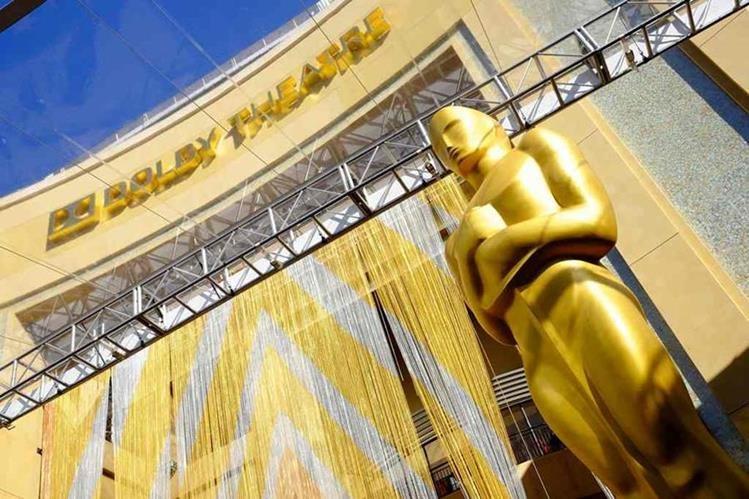 Los Óscar son galardones más importantes de Hollywood. (Foto Prensa Libre: AFP)