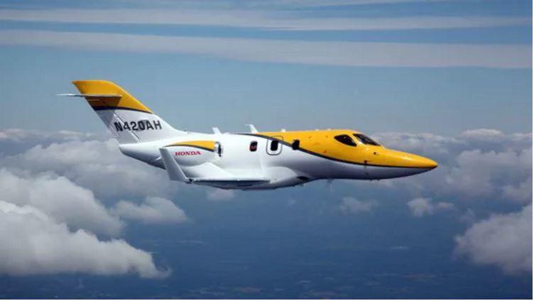 La marca japonesa Honda presentó en Guatemala su Hondajet, una nueva opción de avión corporativo. (Foto Prensa Libre: www.infobae.com)