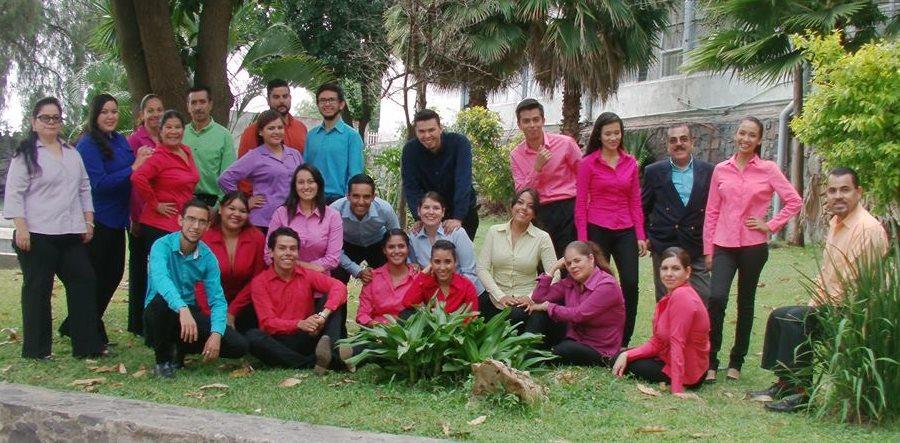 Coro Orfeón, de la Escuela Normal de Jalisco, México. (Foto Prensa Libre: Hemeroteca PL).