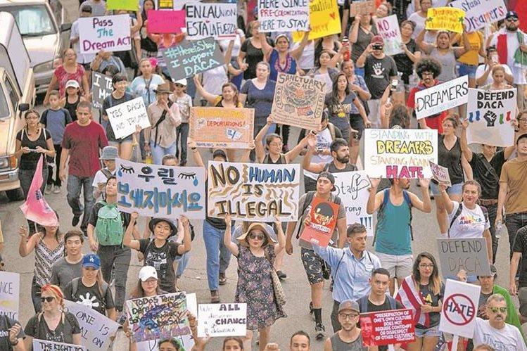 Las medidas de Trump han generado varias protestas en EE. UU. (Foto: Hemeroteca PL)