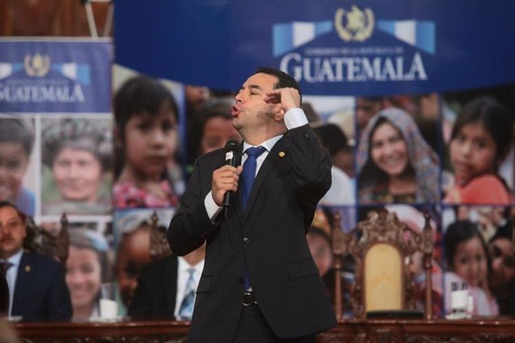 Seis de cada diez consultados creen que el país no ha mejorado con el nuevo gobierno. (Foto Prensa Libre: Hemeroteca PL)