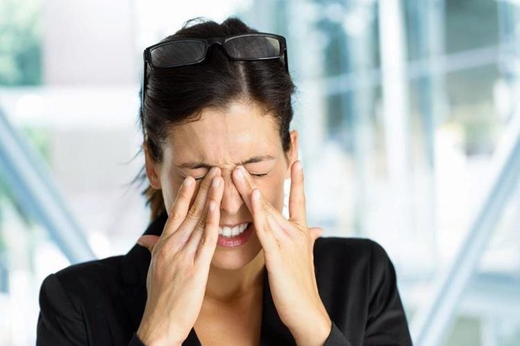 Ministerio de Salud confirmó que una epidemia de conjuntivitis afecta al país. (Foto Prensa Libre: Hemeroteca PL)