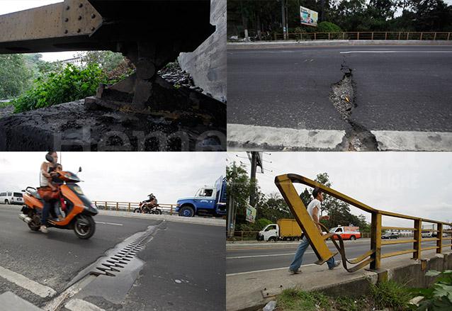 Estado actual del Puente Belice donde es evidente el paso del tiempo y la falta de mantenimiento. (Foto: Hemeroteca PL)
