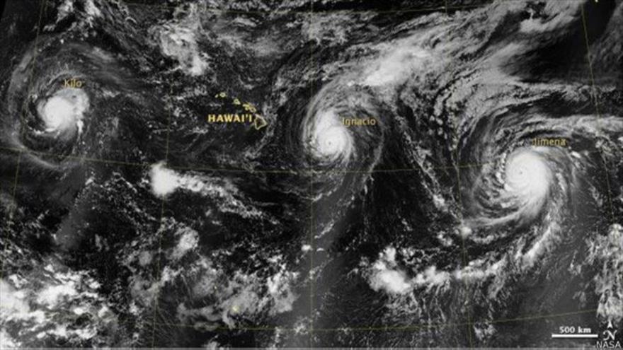 Las autoridades se muestran en alerta por la formación de los fenómenos climáticos. (Foto: Nasa).
