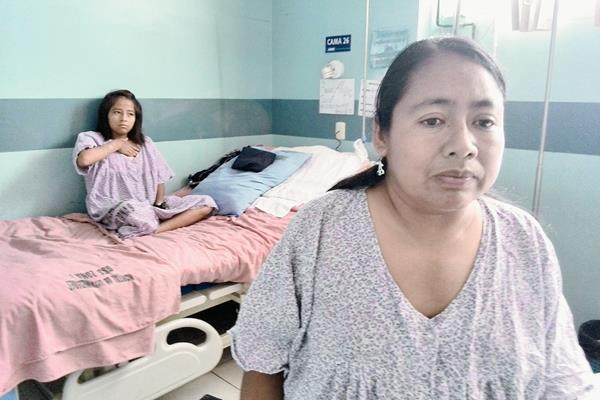 Enfermas renales internados en el IGSS de la zona 9 debido a peritonitis. (Foto Prensa Libre: Hemeroteca PL)