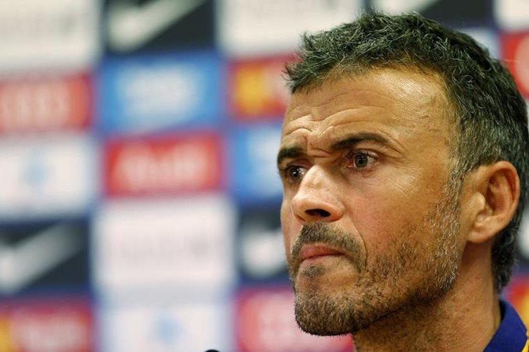 El técnico del Barcelona, Luis Enrique analizó las faltas ante el Celta de Vigo y afirmó que deben mejorar. (Foto Prensa Libre: EFE)