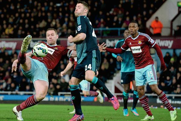 El Chelsea superó 1-0 al West Ham en juego de la jornada 28. (Foto Prensa Libre: AFP).