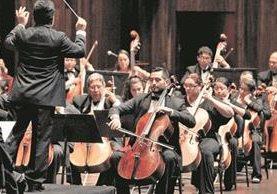 Los virtuosos de la música muestran su talento en el escenario. (Foto Prensa Libre: Hemeroteca PL)