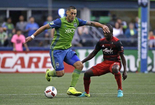 Clint Dempsey es la figura de Seattle Sounders y la Selección de Estados Unidos. (Foto Prensa Libre: AP)