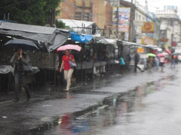 La fuerte lluvia ponen en alerta a El Salvador.