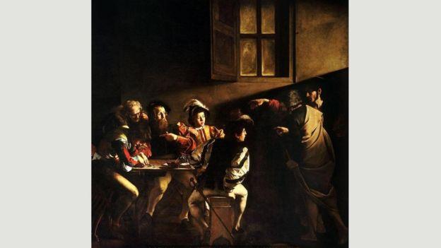 """""""La vocación de San Mateo"""" es uno de los lienzos que convirtieron a Caravaggio en una estrella de la noche a la mañana. CARAVAGGIO/WIKIPEDIA"""