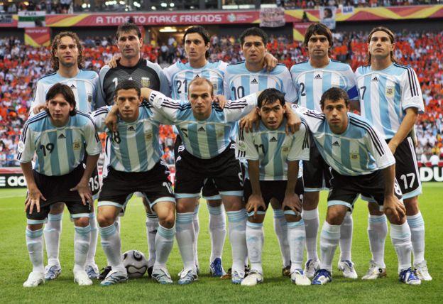 Aquella selección de Argentina contaba con una profundidad y calidad muy superior a la del equipo actual. (Getty)