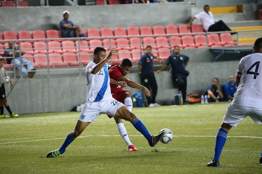 Los panameños tampoco convencieron a su afición luego del empate sin goles contra Guatemala. (Foto Prensa Libre: Fepafut)
