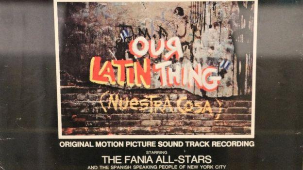 """La música e imágenes del documental """"Our Latin Thing (Nuestra Cosa)"""" impulsaron la fama de los Fania All-Stars por el mundo. BBC MUNDO"""