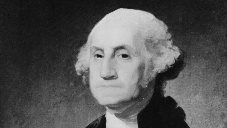 George Washington fue electo presidente sin afiliación a ningún partido político. GETTY IMAGES
