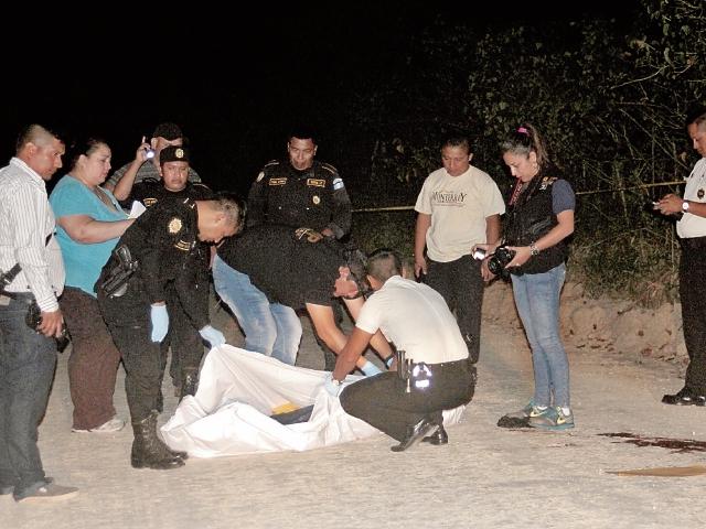 Silas Sánchez, de 28 años, fue ultimado en San Benito, Petén, el 3 de enero. (Foto Prensa Libre: Rigoberto Escobar)