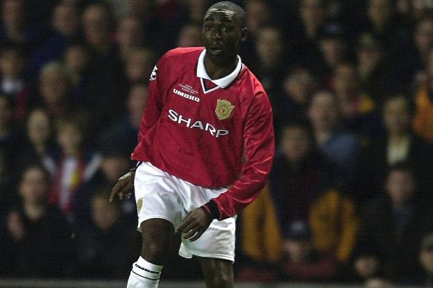 Andy Cole jugó en el Manchester United. (Foto Prensa Libre: Hemeroteca PL)