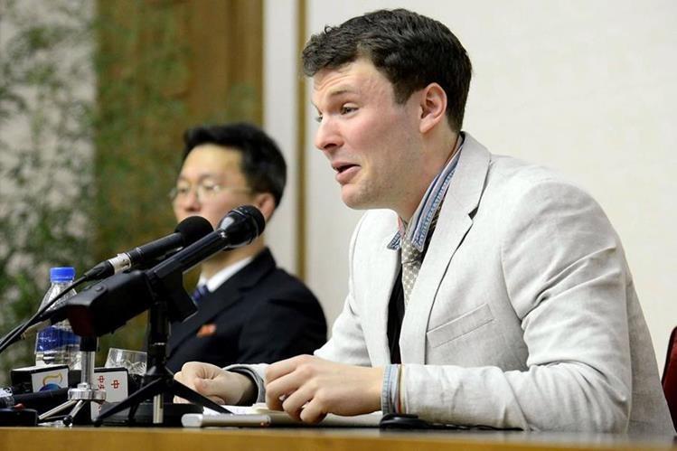 Murió estudiante liberado en estado de coma por Corea del Norte — EEUU