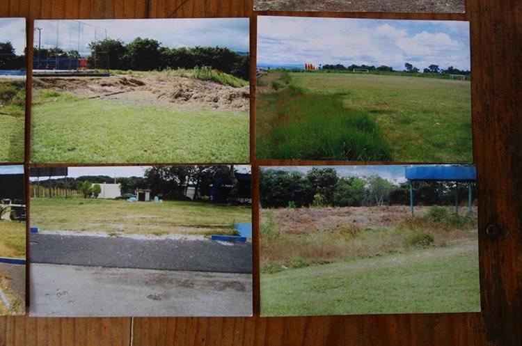Vista de los campos antes que llegara la empresa Greenfield en el 2007. (Foto Prensa Libre: Álvaro Interiano)