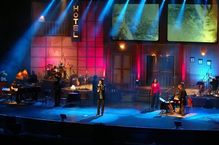 Uno de los conciertos más recordados fue el que Arjona realizó en 2008 en la Gran Sala del Centro Cultural Miguel Ángel Asturias.