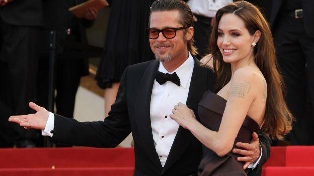 La pareja más famosa de la pantalla grande anunció su separación. (Foto Prensa Libre: Hemeroteca PL)