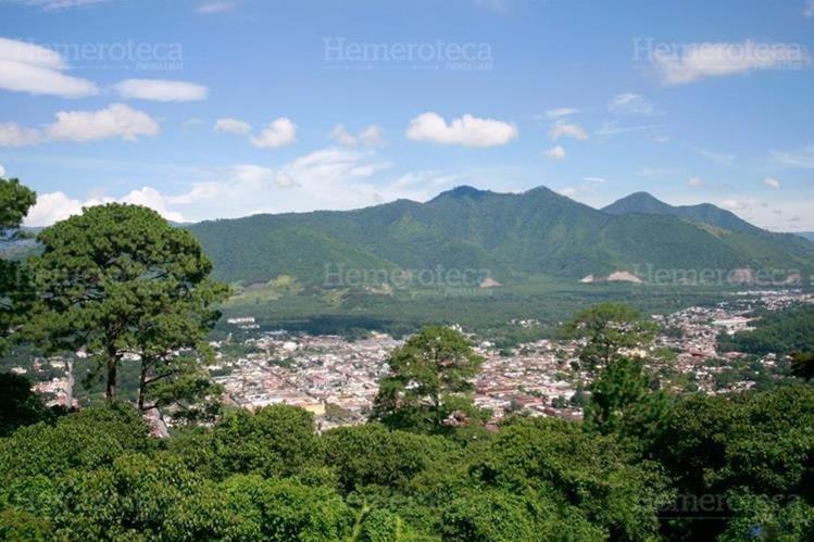 Vista de Antigua Guatemala desde Santo Domingo El Cerro. (Foto: Hemeroteca PL)