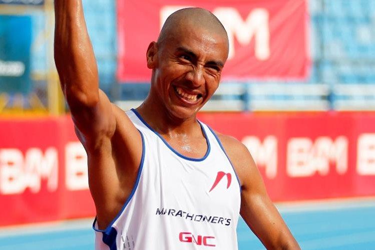 José Amado García dio una alegría más al país y ahora buscará hacer un buen papel en Río. (Foto Prensa Libre: Hemeroteca)