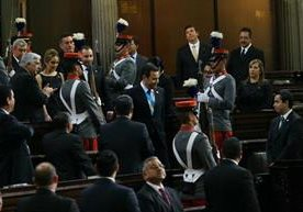 Diputados cambian de Junta Directiva.