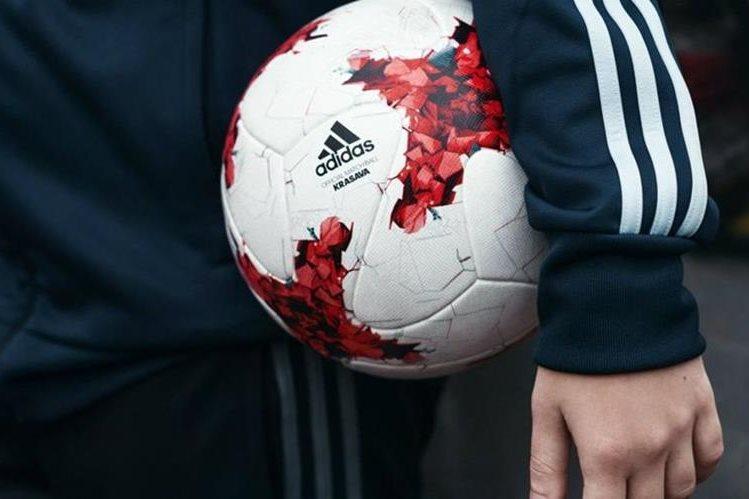 La Krasaba es el balón oficial de la Copa Confederaciones de Rusia que comienza el sábado en Rusia