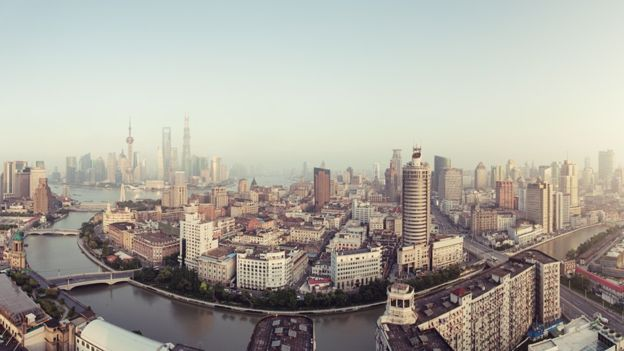 La urbe china ha crecido enormemente en los últimos años. SPREEPHOTO.DE/GETTY IMAGES