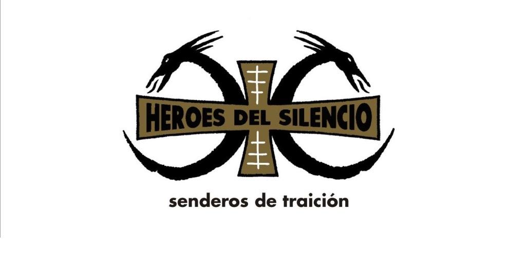 Logotipo de la banda española que utilizó durante la promoción del álbum Senderos de traición. (Foto Prensa Libre: Hemeroteca PL)