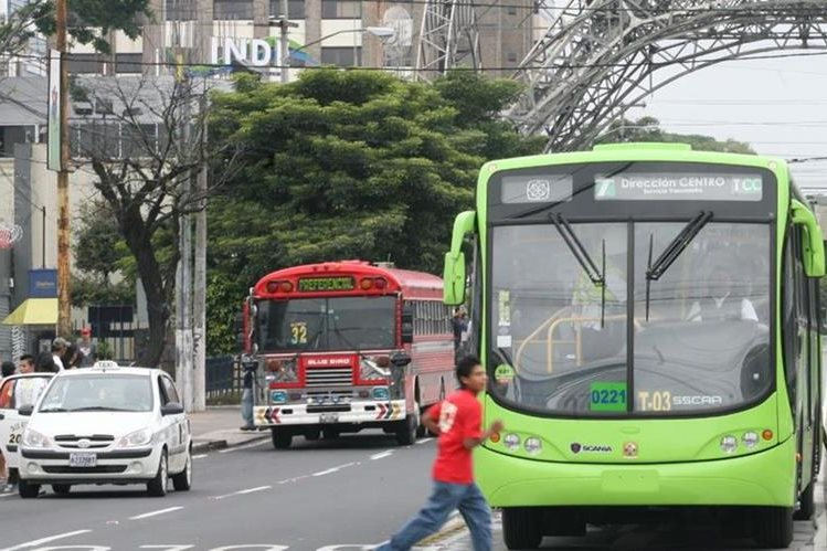 El Transmetro podría tener un circuito del Anillo Periférico, desde la zona 1 hacia la Universidad de San Carlos de Guatemala, zona 12 capitalina. (Foto Hemeroteca PL)