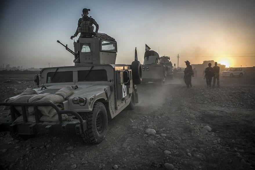 Con el ataque a Mosul se estaría concretando el operativo más grande de las fuerzas iraquíes y aliadas. (Foto Prensa Libre: EFE).