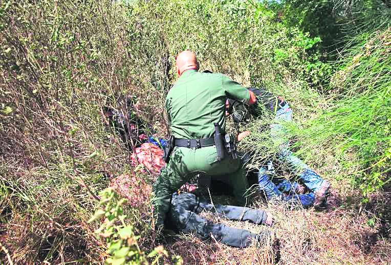 Trump ofreció reforzar detenciones en las fronteras. (Foto: Hemeroteca Pl)