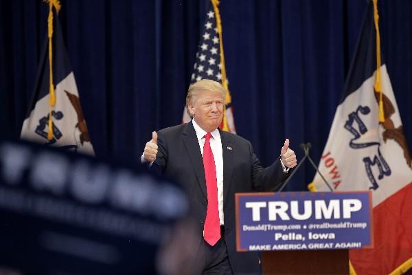 """<span class=""""hps""""><span class=""""hps"""">Donald</span> <span class=""""hps"""">Trump, pre</span>candidato presidencial republicano</span>."""