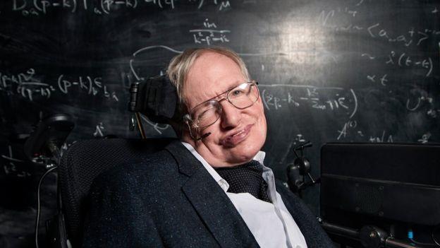 El profesor Hawking habló durante un festival científico y artístico en Noruega. (Foto Prensa Libre: BBC/Richard Ansett)