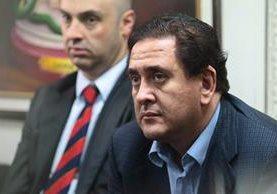 Carlos López, uno de los dos defensores de Alejos, renunció este martes a su representación. (Foto Prensa Libre: Hemeroteca PL)