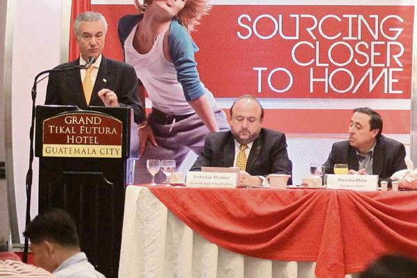 Arturo Rodríguez expuso sobre la importancia de la tecnología en la industria, durante el lanzamiento de la edición 24 del Apparel Sourcing Show.