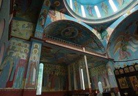 Interior del Monasterio Ortodoxo Lavra Mambré (Foto Álvaro Interiano)