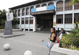 Los magistrados de la Corte de Constitucionalidad resolvieron suspender provisionalmente la entrada en vigencia del Código de Migración. (Foto Prensa Libre: Hemeroteca PL)