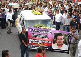 El periodista Danilo López, corresponsal de Prensa Libre en Suchitepéquez, fue muerto a balazos el 10 de marzo del 2015. (Foto Prensa Libre: Hemeroteca PL)