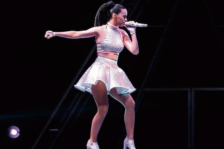 La gira de Katy Perry ha sido una de las más exitosas a nivel mundial. (Foto Prensa Libre: Hemeroteca PL)