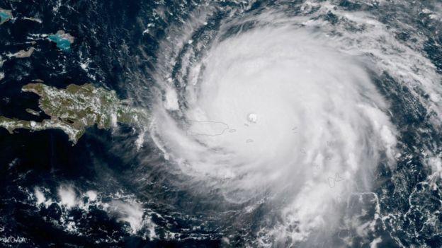 Una de las características que hace a Irma tan peligroso es el hecho de mantuvo su máxima categoría durante muchos días. NASA/NOAA GOES PROJECT VIA GETTY IMAGES