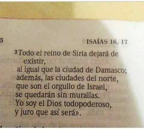 Imagen que circula en redes sociales y contiene un fragmento del libro de Isaías. (Foto Prensa Libre: HemerotecaPL)