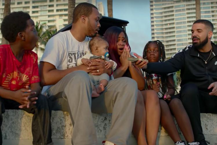 Drake donó un millón de dólares en el video de 'God's Plan'