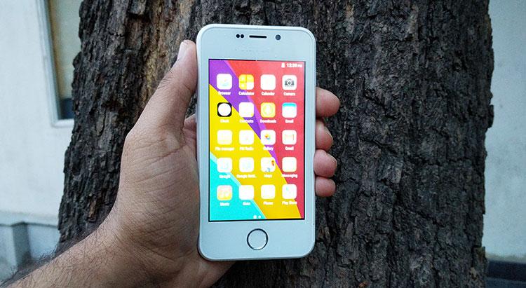 El Freedom 251, de US$4, fue presentado este año como el smartphone más barato del mundo, aunque ahora hay otros fabricantes que se disputan ese título. (Foto Prensa Libre: freedom251info.com).