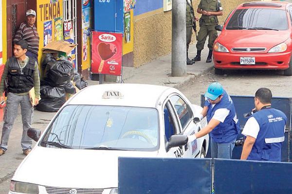 <p>Silvia Johana Osorio Gatica, conductora de un taxi, murió baleada en la zona 6. <br></p>