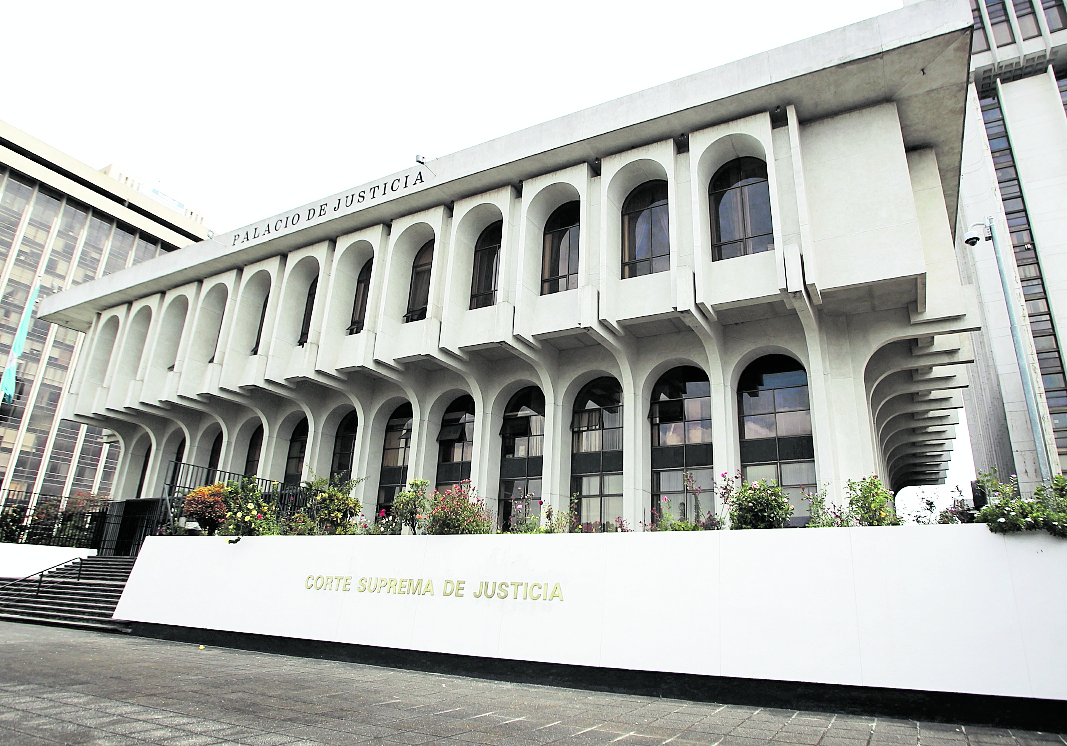 Sede de la Corte Suprema de Justicia (CSJ) en el centro cívico. (Foto Prensa Libre: Hemeroteca PL).