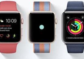 Pocos usuarios se habían dado cuenta que Google, eBay o Amazon habían retirado su app para Apple Watch (Foto Prensa Libre: apple.com)